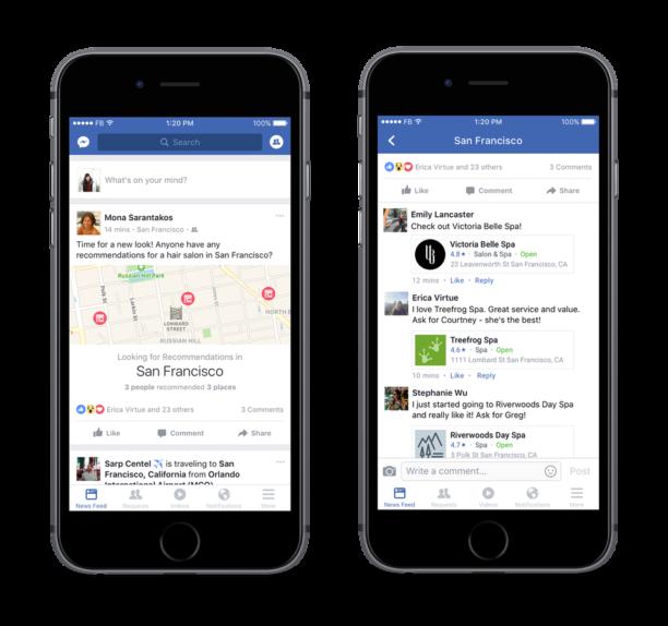 facebook-recommandation