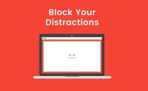 Focus  outil bloquer certains sites web pendant séances travail