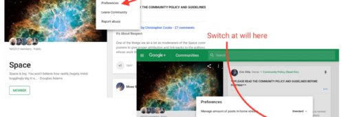 Google+ cède sirènes algorithmes