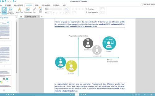 Wondershare PDFelement   logiciel créer  modifier  combiner convertir PDF
