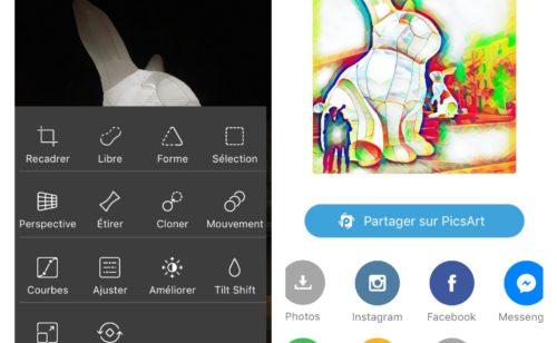 PicsArt   l'app parfaite modifier retoucher photos mobile