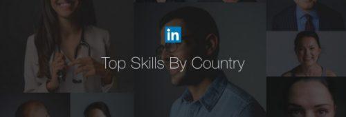 compétences LinkedIn plus prisées 2016 France monde