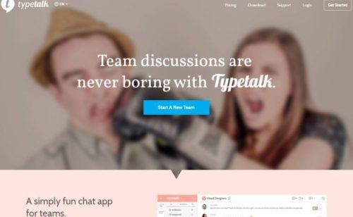 Typetalk   messagerie instantanée concurrence Slack
