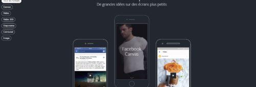 Facebook lance Creative Hub  éditeur maquettes publicitaires