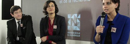Interview   Myriam El Khomri fait point Grande École Numérique