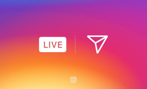 Nouveautés Instagram   vidéos live photos éphémères
