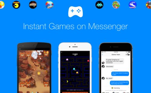 Facebook   17 jeux Messenger dont PAC-MAN  Arkanoid  Space Invaders  Puzzle Bobble…