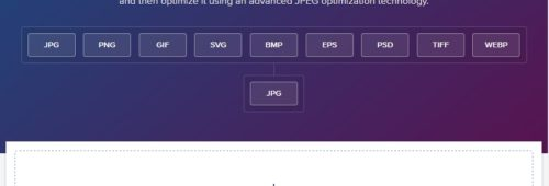 Jpeg.io   optimiser convertir image JPG