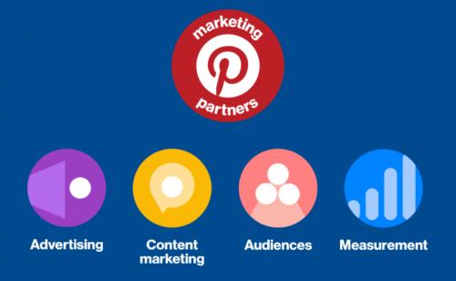 Pinterest   liste entreprises partenaires (publicité  content marketing…)