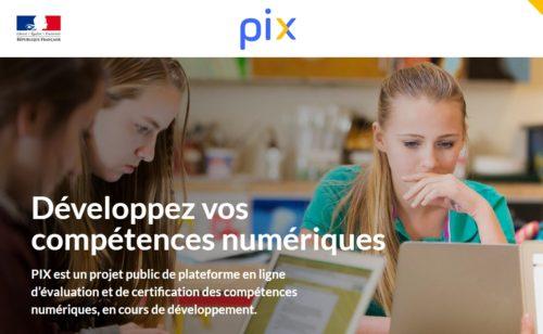 Gouvernement lance PIX  plateforme gratuite évaluer certifier compétences numériques