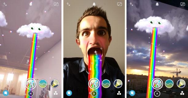 snapchat-arc-en-ciel-nuage