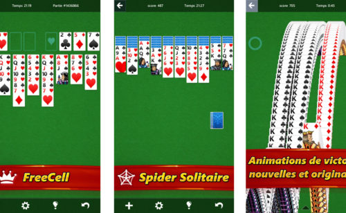 Solitaire Microsoft est disponible Android  iPhone iPad