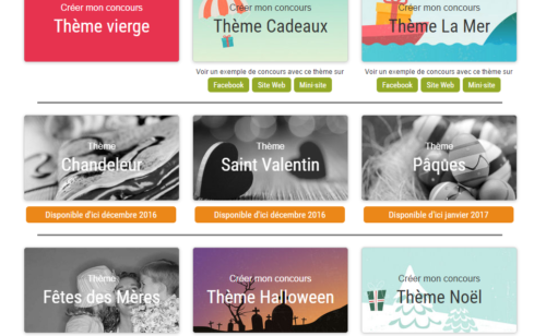 ReflexeMedia   solution complète simple concours responsive cross-canal