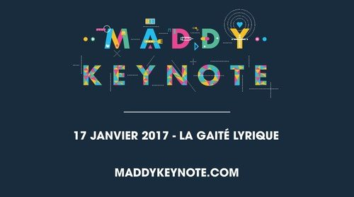 Maddy Keynote revient 17 janvier prochain décrypter monde demain