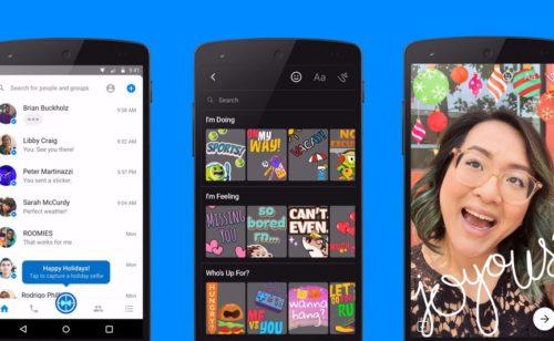 Facebook copie (encore) Snapchat lance photos augmentées Messenger