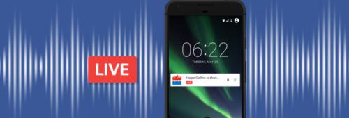 Facebook lance «Live Audio»   contenu audio interactif diffusé temps réel
