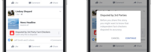 Comment Facebook va lutter contre fausses informations