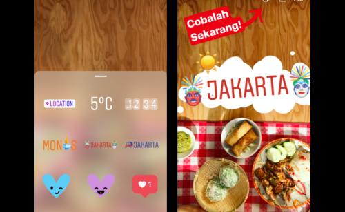 Instagram   stickers géolocalisés arrivent Stories