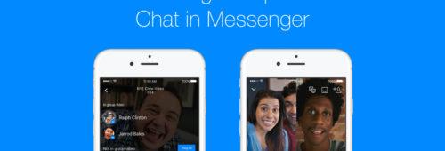 Facebook   passez appels vidéo groupe Messenger