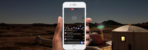 Facebook lance vidéo Live 360