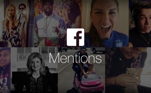 Facebook Mentions   nouvelles options captation live