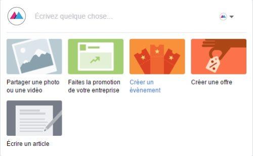 De nouvelles options publication pages Facebook