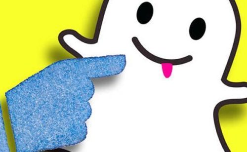Facebook Collections  copie conforme Snapchat Discover