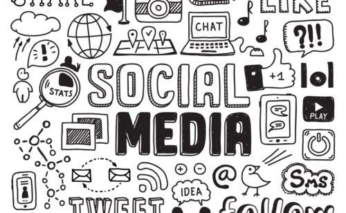 50 chiffres connaître médias sociaux 2017