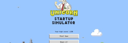 Unicorn Startup Simulator   simulateur start-up plein d'humour l'écosystème tech