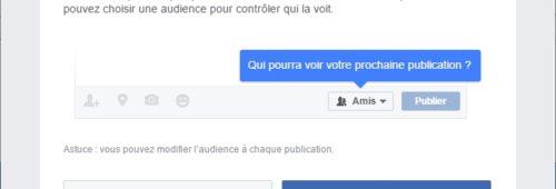 Comment régler paramètres confidentialité Facebook
