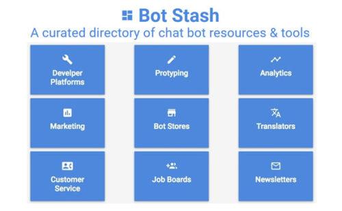 Bot Stash   répertoire ressources d'outils créer bots