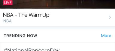Twitter lance onglet «Explorer» regrouper tendances  vidéos Moments