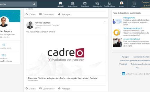 LinkedIn   refonte complète version desktop