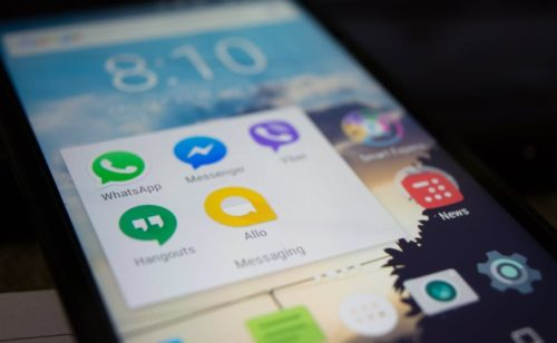 Étude   l'usage applications mobiles forte hausse  surtout grâce messageries