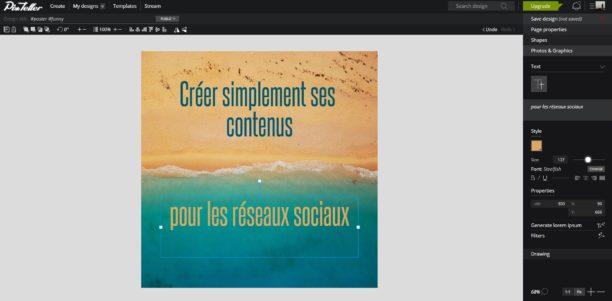 Pixteller : un outil gratuit pour créer des visuels pour les réseaux sociaux