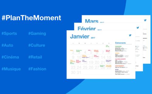 calendrier marketing l'année 2017   #PlanTheMoment