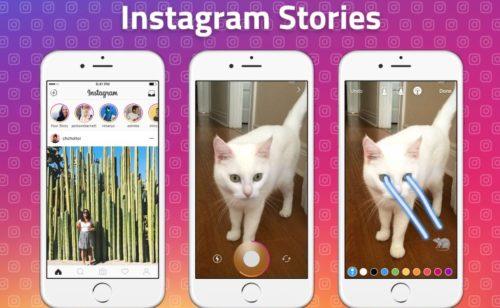 Instagram Stories   lancement publicités entre stories d'analytics
