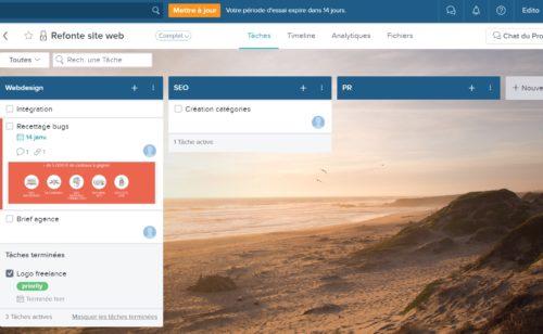Taskworld   outil complet gestion projet messagerie intégrée