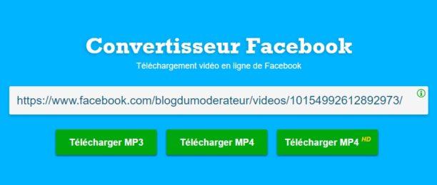 télécharger une vidéo sur facebook sans logiciel