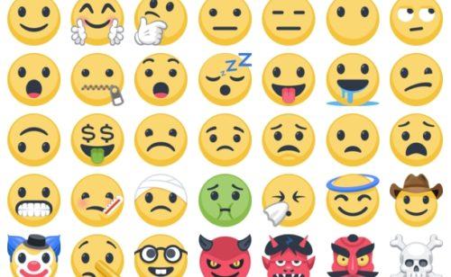 1620 nouveaux emojis Facebook