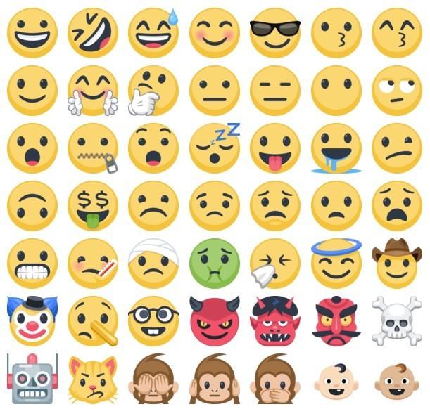 1620 Nouveaux Emojis Sur Facebook Bdm