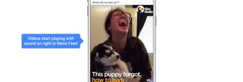 Vidéos Facebook   activé défaut  watch and scroll  vidéos verticales…