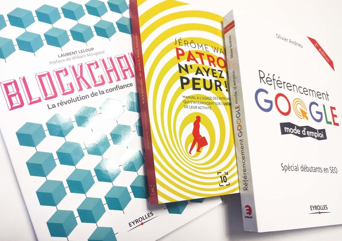 Les livres sont un bon moyen de se former aux métiers du digital. Ils permettent d'appréhender des champs nouveaux et d'acquérir de nouvelles compétences d