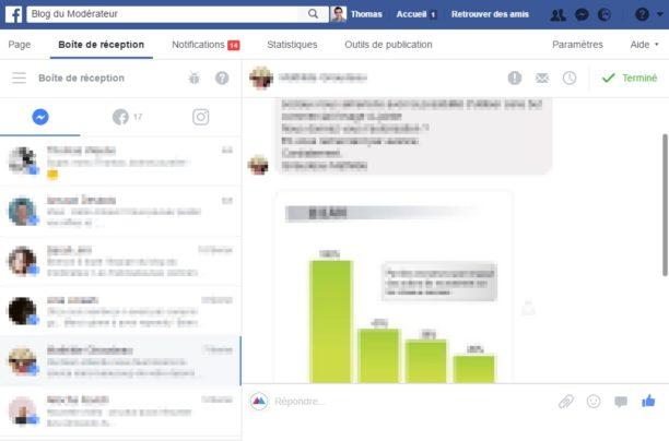 Pages Facebook : une nouvelle boîte de réception pour gérer les messages et les commentaires