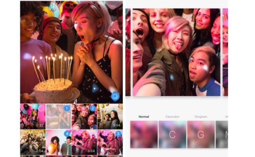 Instagram lance officiellement albums photos vidéos
