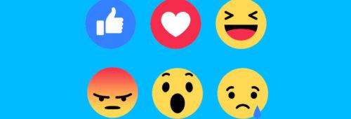 Facebook   réactions ont plus d'importance likes l'algorithme visibilité