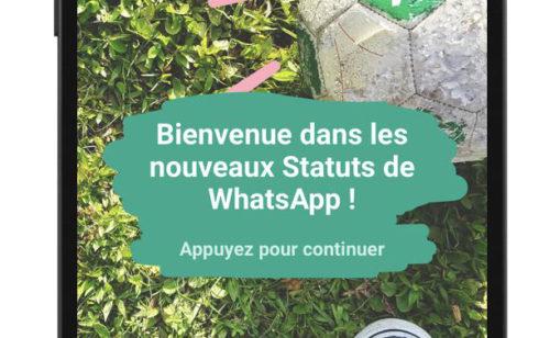 Mise jour WhatsApp   nouveaux Statuts  copier-coller Stories Snapchat
