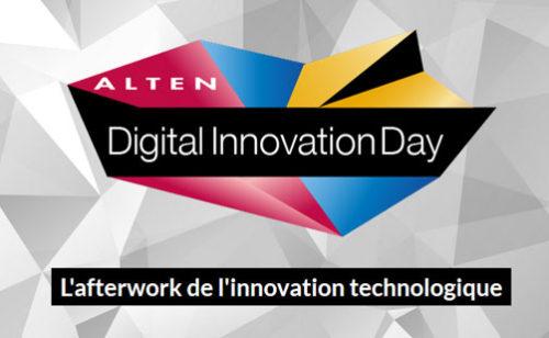 Digital Innovation Day ALTEN  l'afterwork l'innovation technologique – 23 mars 2017