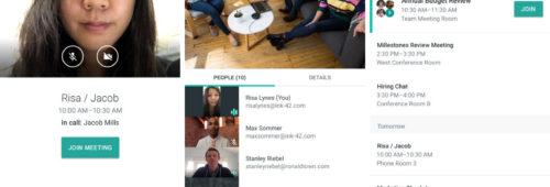 Google lance Meet  service visioconférence professionnels