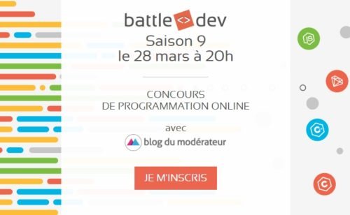 Développeurs  Battle Dev revient   5000€ cadeaux 100 entreprises rencontrer